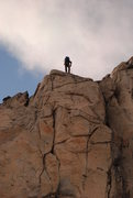 Rock Climbing Photo: Wait I thought the guide book said walk-off for th...