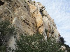 Rock Climbing Photo: Climbers enjoying the Ramona Wall. Left to right: ...