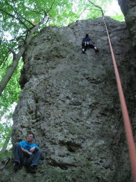 Rock Climbing Photo: Climbing Kuhlochfelson!