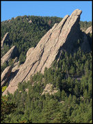 Rock Climbing Photo: Third Flatiron. Photo by Blitzo.