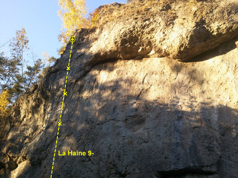 The crag from left to right, pic 1 of 5.