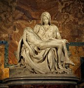 "Rock Climbing Photo: Michelangelo's ""Pieta"""