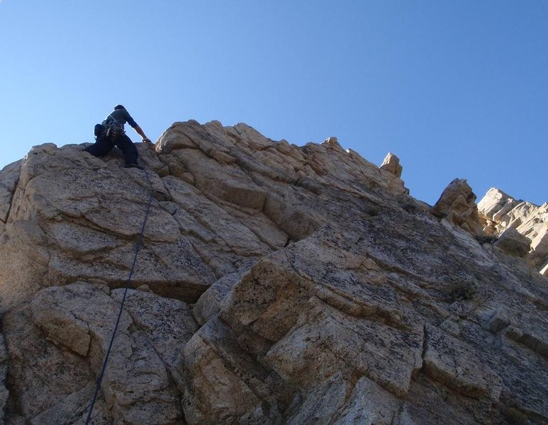 Rock Climbing Photo: Johnny K on pitch 2