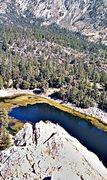 Rock Climbing Photo: Crystal Lake