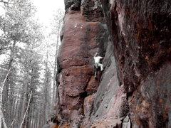 Rock Climbing Photo: Darth Cracker