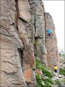 Rock Climbing Photo: Boris Sends Again