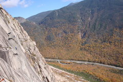 Rock Climbing Photo: Another nice shot of Vertigo, taken from the belay...