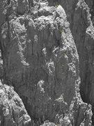 Rock Climbing Photo: Dark Star buttress.