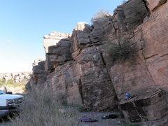 Rock Climbing Photo: My beginner rocks!