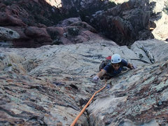 Rock Climbing Photo: top of P12 (we linked with P11)
