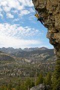 Rock Climbing Photo: Jagged Sky.