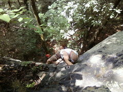 Rock Climbing Photo: New river gorge climbing