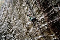 Rock Climbing Photo: Chainsaw massacre (5.12a), Motherlode region, Unde...