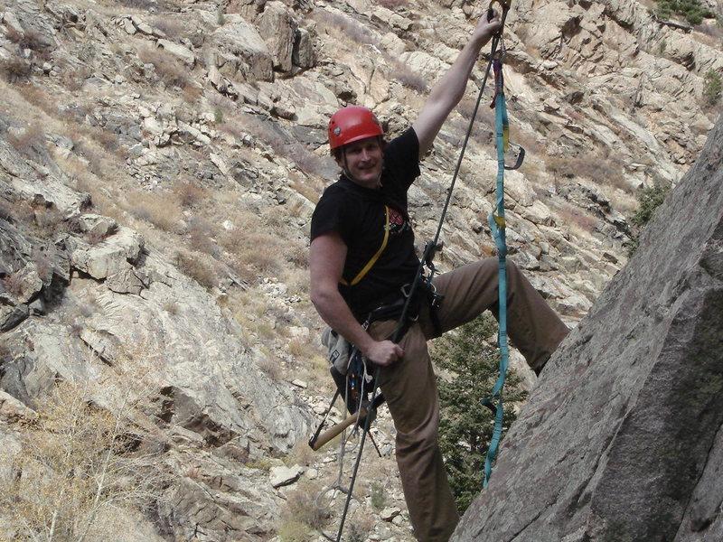 Rock Climbing Photo: The Sweet new line!!!  Wild Bore!!