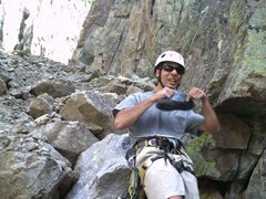 Rock Climbing Photo: Wishing for a breeze in the C.C.!