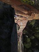 Rock Climbing Photo: Starting pitch 2.