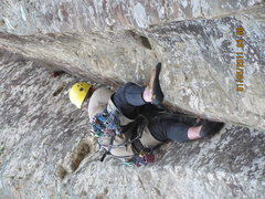 Rock Climbing Photo: sweet line