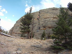 Rock Climbing Photo: Your Possible Pasts 5.6. 2nd trad lead, awesome ro...
