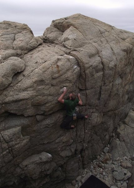 Rock Climbing Photo: bouldering at Granite Creek