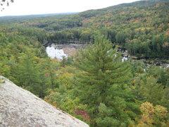 Rock Climbing Photo: Fall view of the marsh