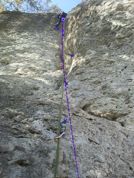 Rock Climbing Photo: Brummelschlitz