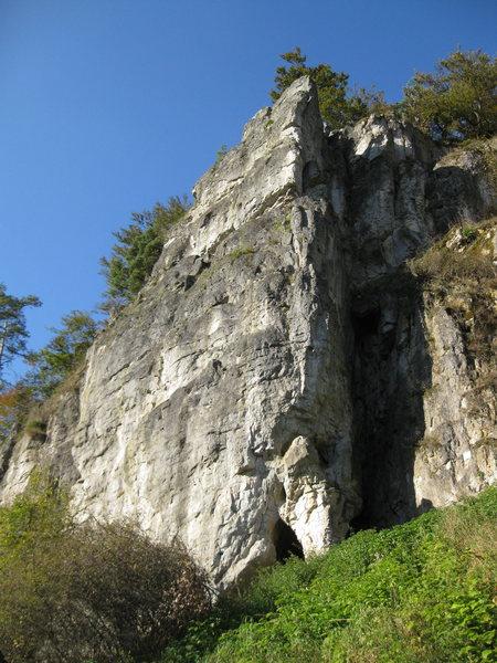 Rock Climbing Photo: First impression of Lauterachfels.