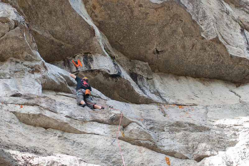 Rock Climbing Photo: Bivy Route, Eagle Bluff