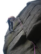 Rock Climbing Photo: Whose idea was this?  Floundering on the File in s...