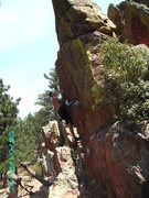 Rock Climbing Photo: A little bouldering out in CO.