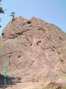 Rock Climbing Photo: A little free solo