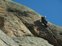 Rock Climbing Photo: Doug Donato on Hand Job Direct 5.9 - Cynical P. So...