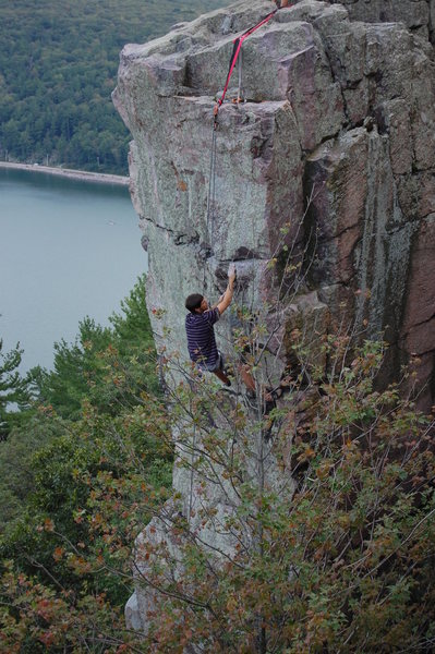 Rock Climbing Photo: How the hell...?
