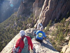 Rock Climbing Photo: Summit shot. Doug Donato Bill Duncan, Mike Colacin...