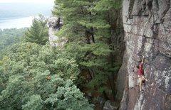 Rock Climbing Photo: Hawks Nest