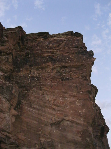 Rock Climbing Photo: Sport climb at The 5 Mile Draw, North eastern AZ. ...