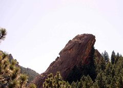 Rock Climbing Photo: Dinosaur Rock from the NCAR trail- Pretty Sweet!  ...