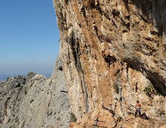 Rock Climbing Photo: Nymfi on the wide.