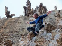 Rock Climbing Photo: Matt Nance delivers a seminar on smooth as a part ...