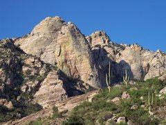 Rock Climbing Photo: Upper Mendoza, the Potato and the Bullet. Jeff May...