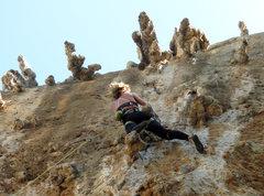 Rock Climbing Photo: Anybody seen a tufa 'round here?