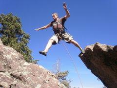 Rock Climbing Photo: The JUMP.