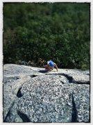 Rock Climbing Photo: Precipice-Acadia Ntl Park, ME.