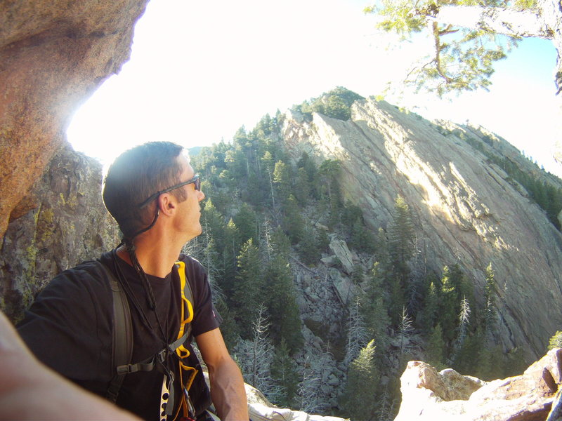 Rock Climbing Photo: From the 3rd belay.