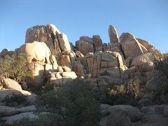 Rock Climbing Photo: Mystic Cove - The Podium - North Faces