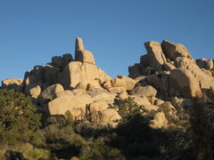 Rock Climbing Photo: Mystic Cove - North and South Towers - West Faces ...