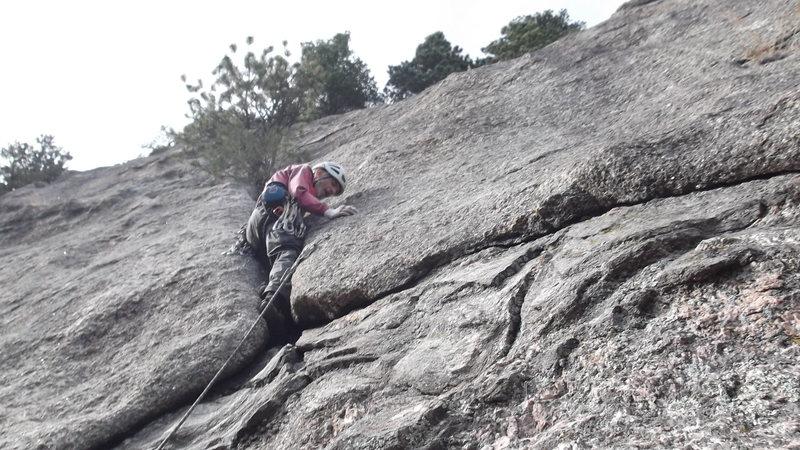 Rock Climbing Photo: Rob Kelman on Barock.