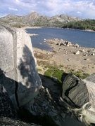Rock Climbing Photo: Offwidth/chimney splitter at Loon.