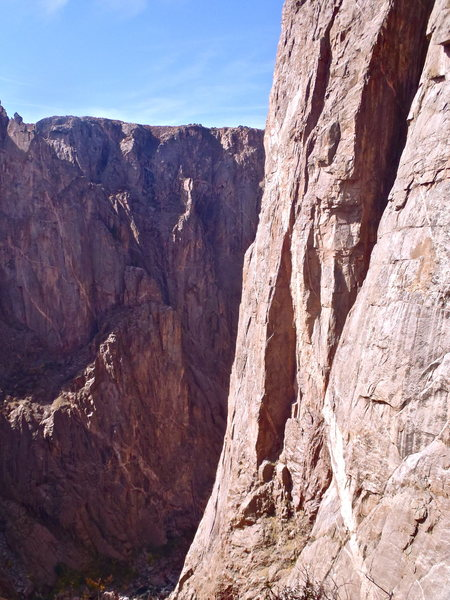 North Chasm View Wall, Black Canyon of the Gunnison