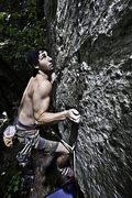 Rock Climbing Photo: stoked 5.11R white stone clif