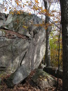 Rock Climbing Photo: The western side. It is from about 8 feet to scary...
